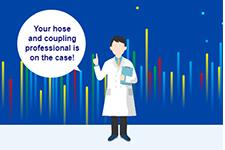 การตรวจสอบหน้างานโดยผู้เชี่ยวชาญมืออาชีพที่พร้อมให้คำแนะนำเรื่องสายยาง